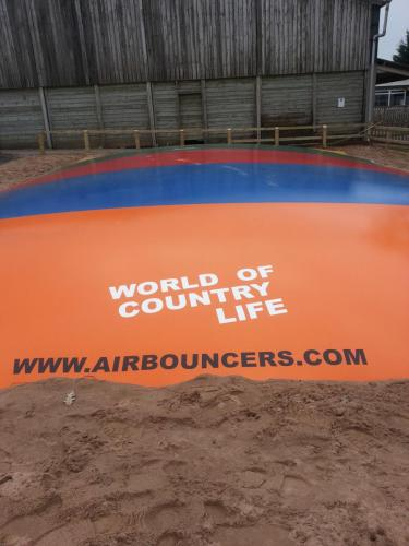 Jumping Pillow Air Bouncer Installation