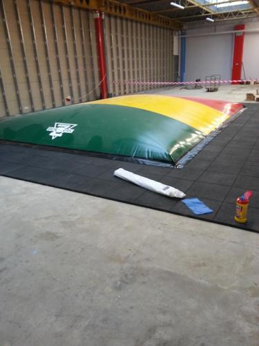 Air Bouncer Installation